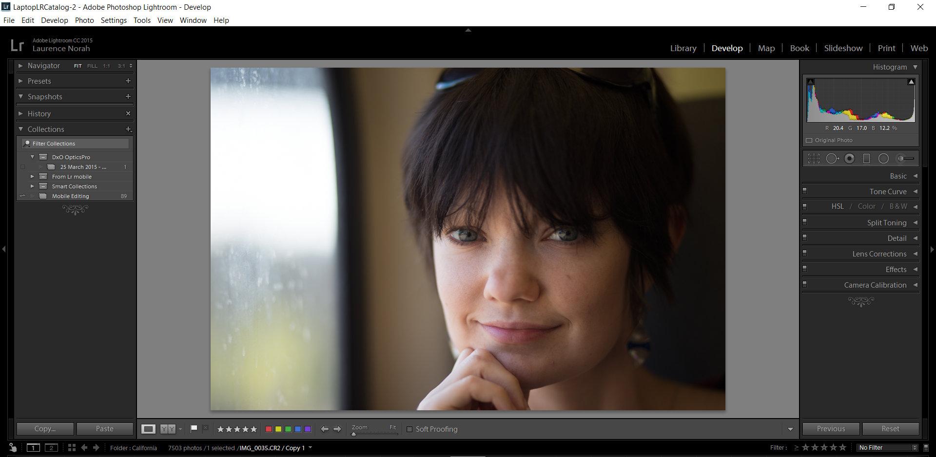 Fix lightroom skin blemish image uploaded in develop module
