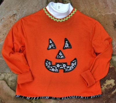 Halloween Embroidery Applique