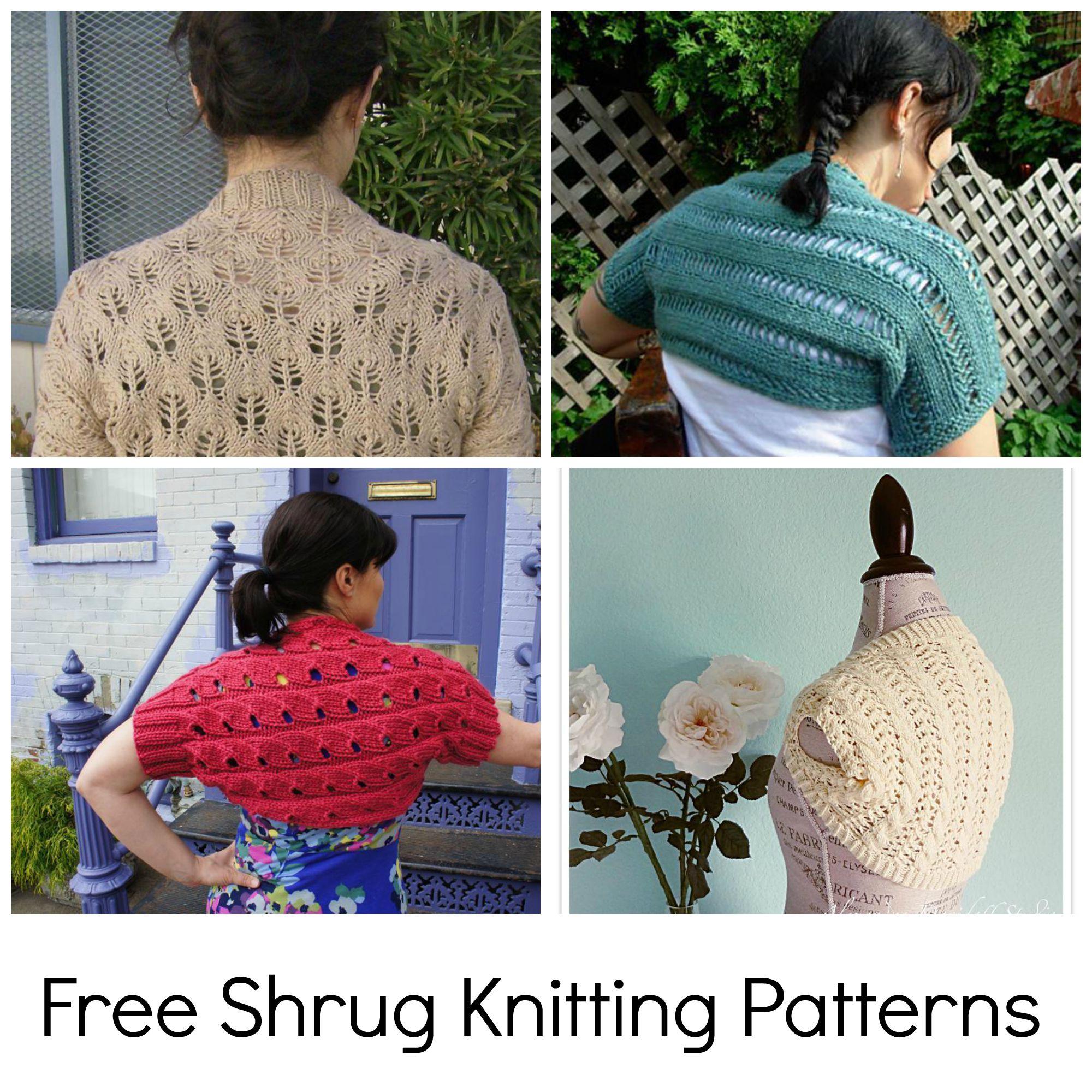 Free Shrug Knitting Patterns