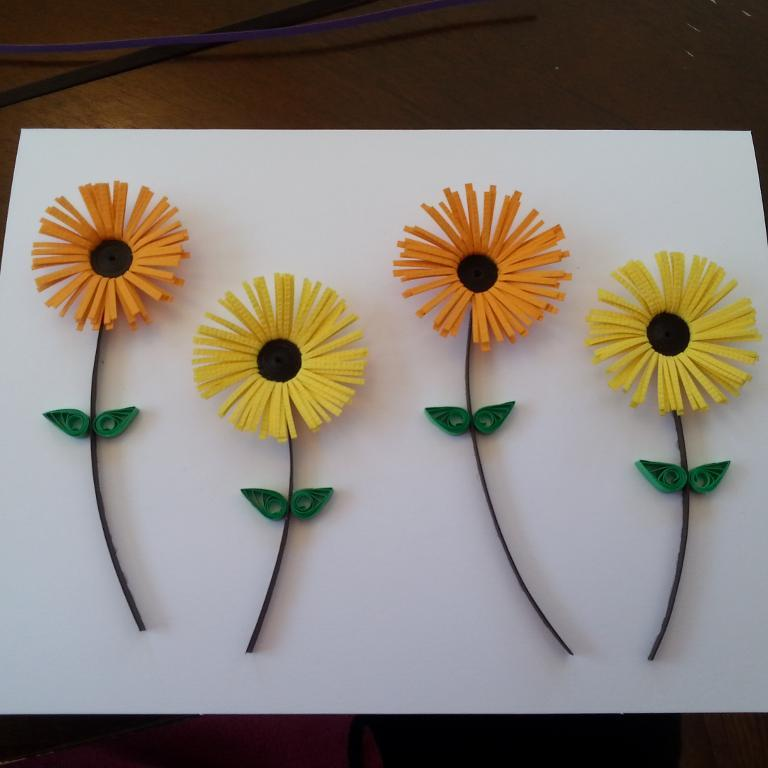 Fringed Quilled Card
