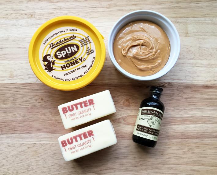Peanut butter buttercream Ingredients