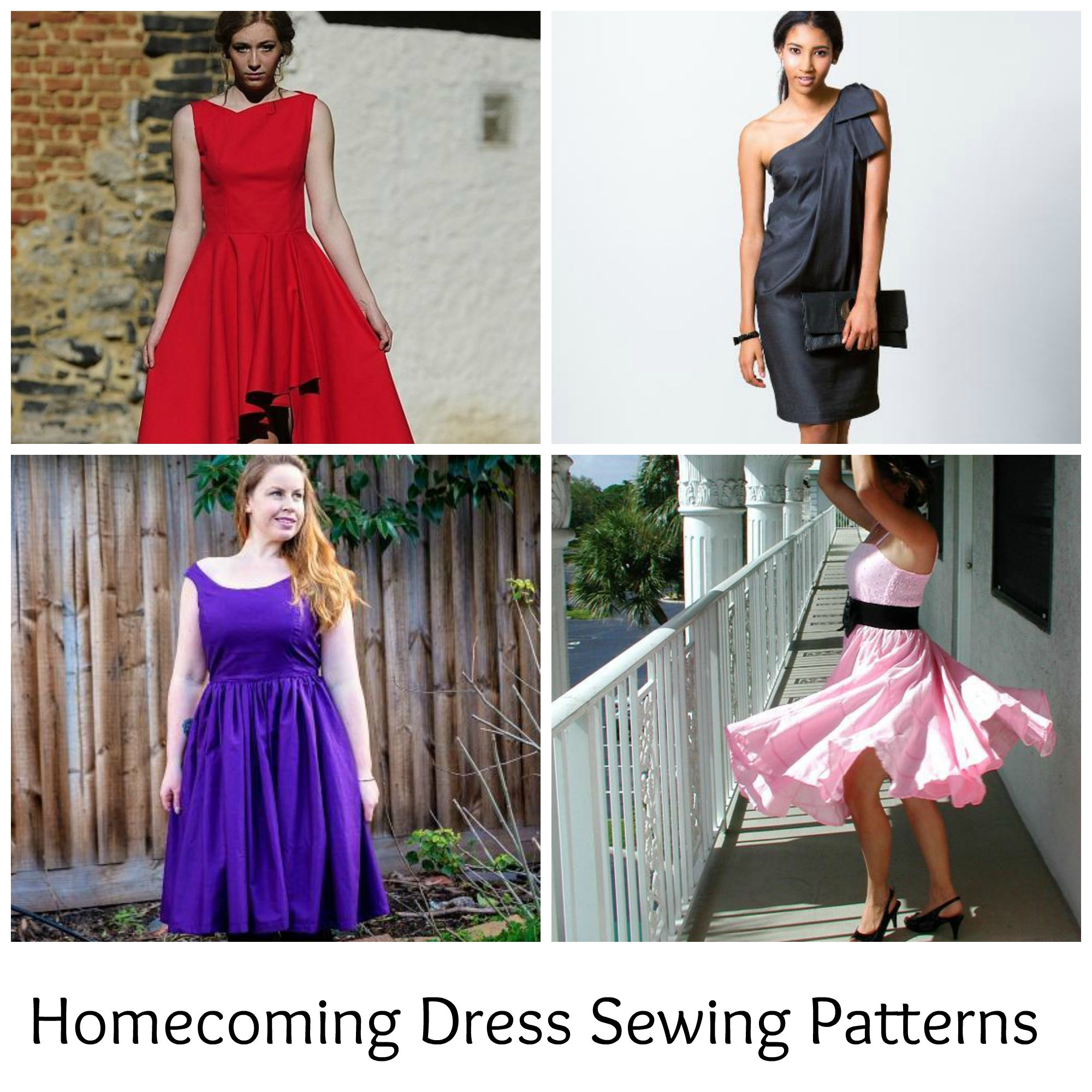 Homecoming Dress Sewing Patterns
