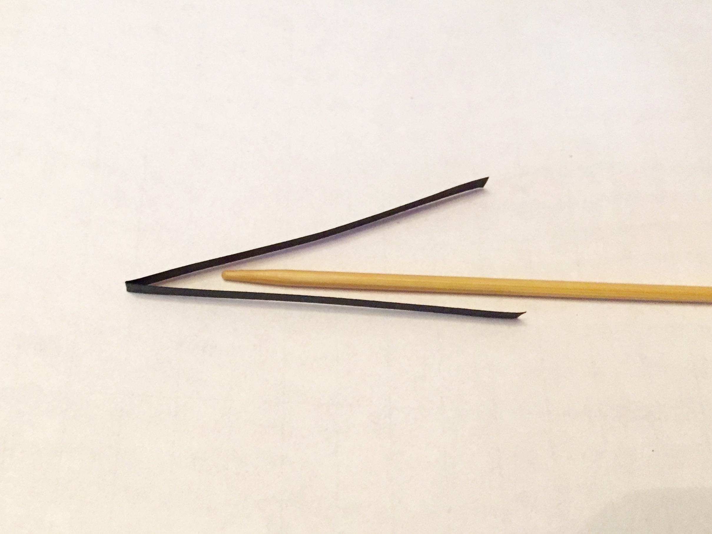 quilling needle form