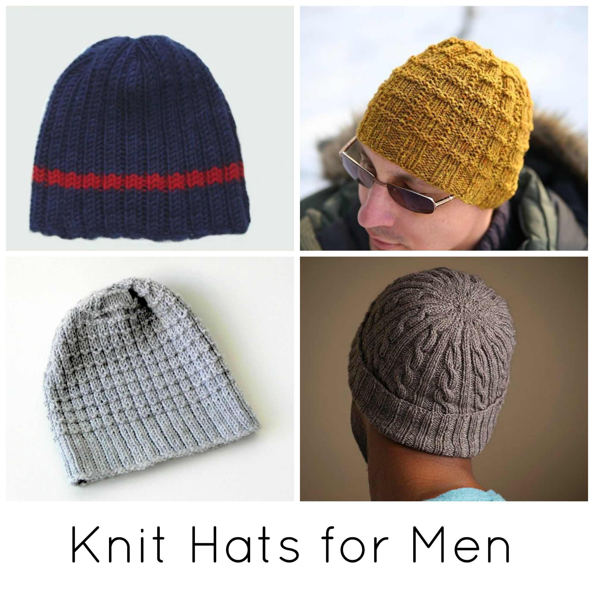 Knit Hats for Men
