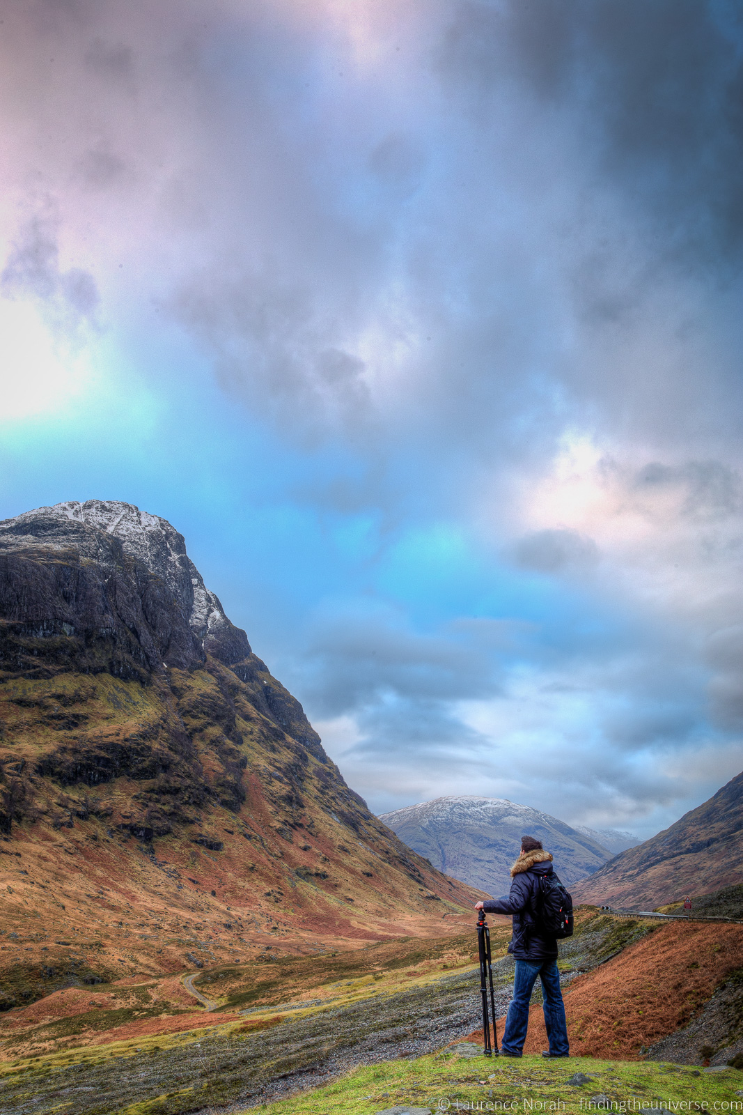 Landscape photography equipment -Glencoe
