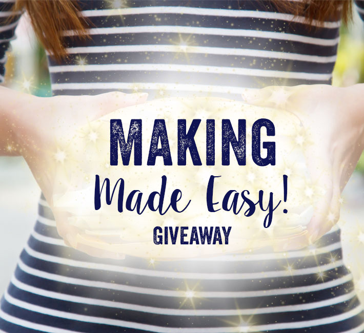 craftsy making made easy giveaway