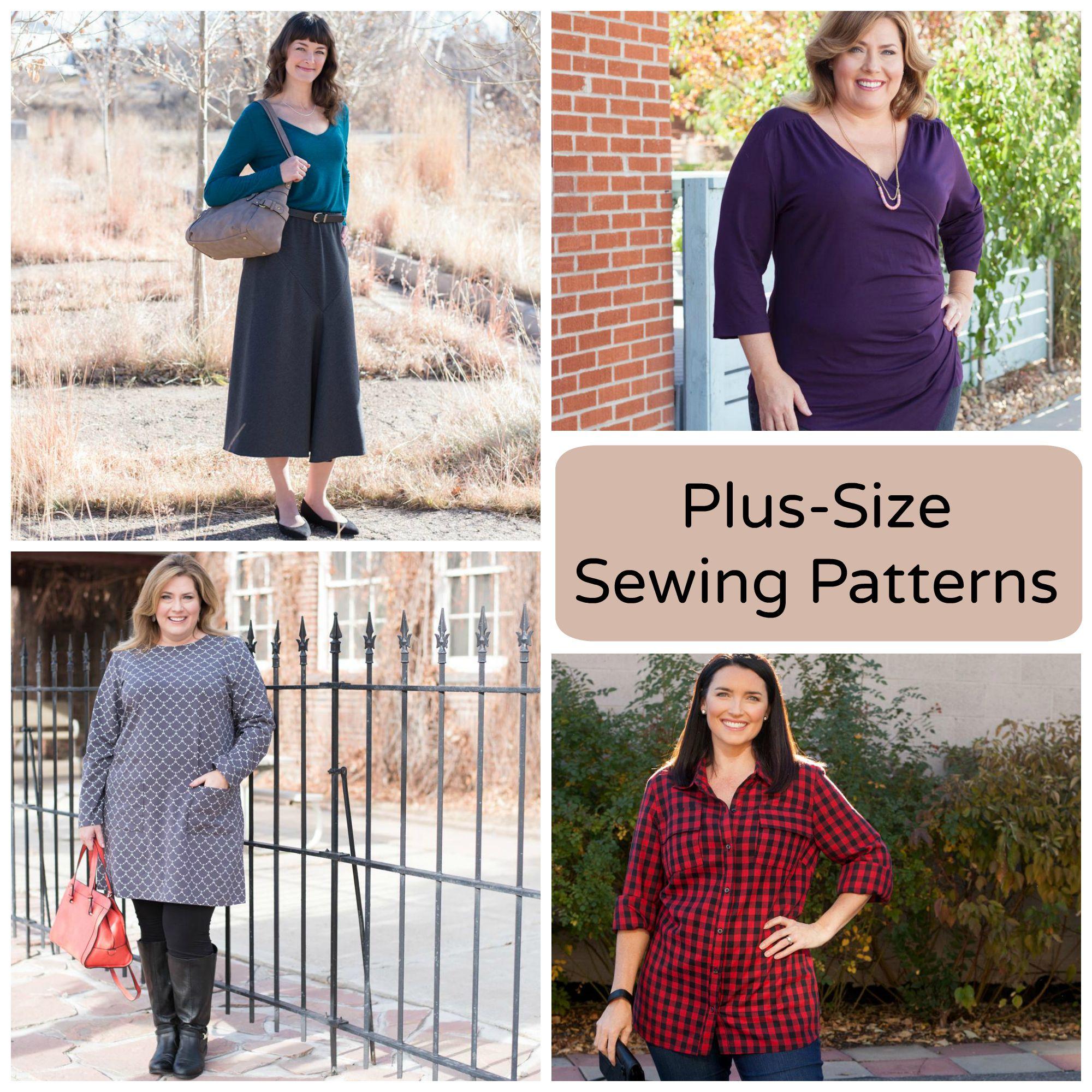 Plus-Size Sewing Patterns