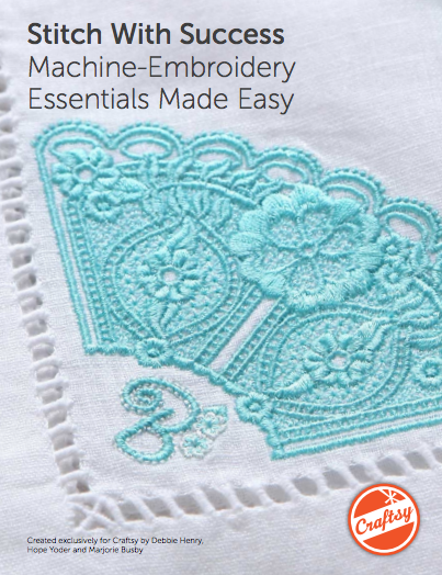 Machine Embroidery for Beginners - Free PDF guide on Bluprint.com