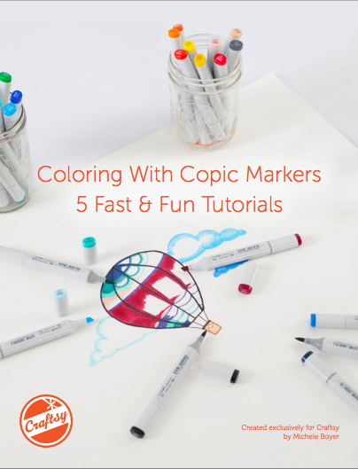 Coloring With Copic Markers: 5 Fast & Fun Tutorials