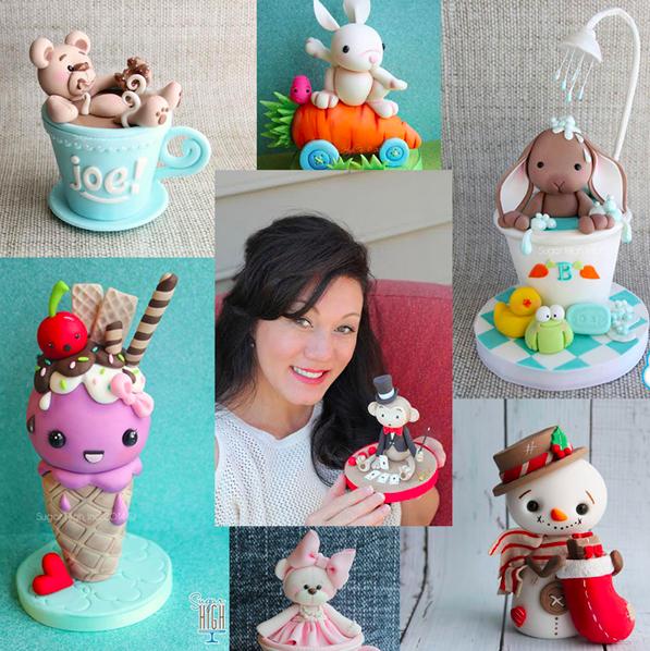 Cake Decorator Brenda Walton collage