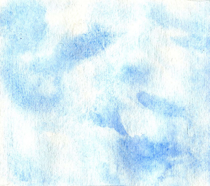 how to paint cirrus clouds