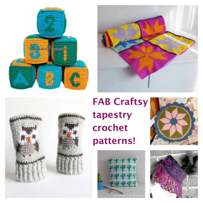 Tapestry crochet patterns from craftsy featured