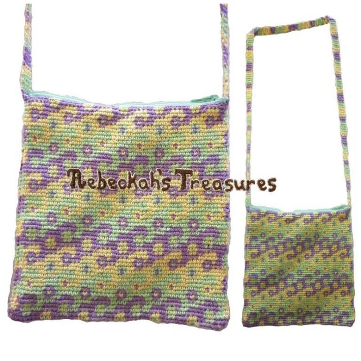 Tapestry crochet patterns tapestry bag