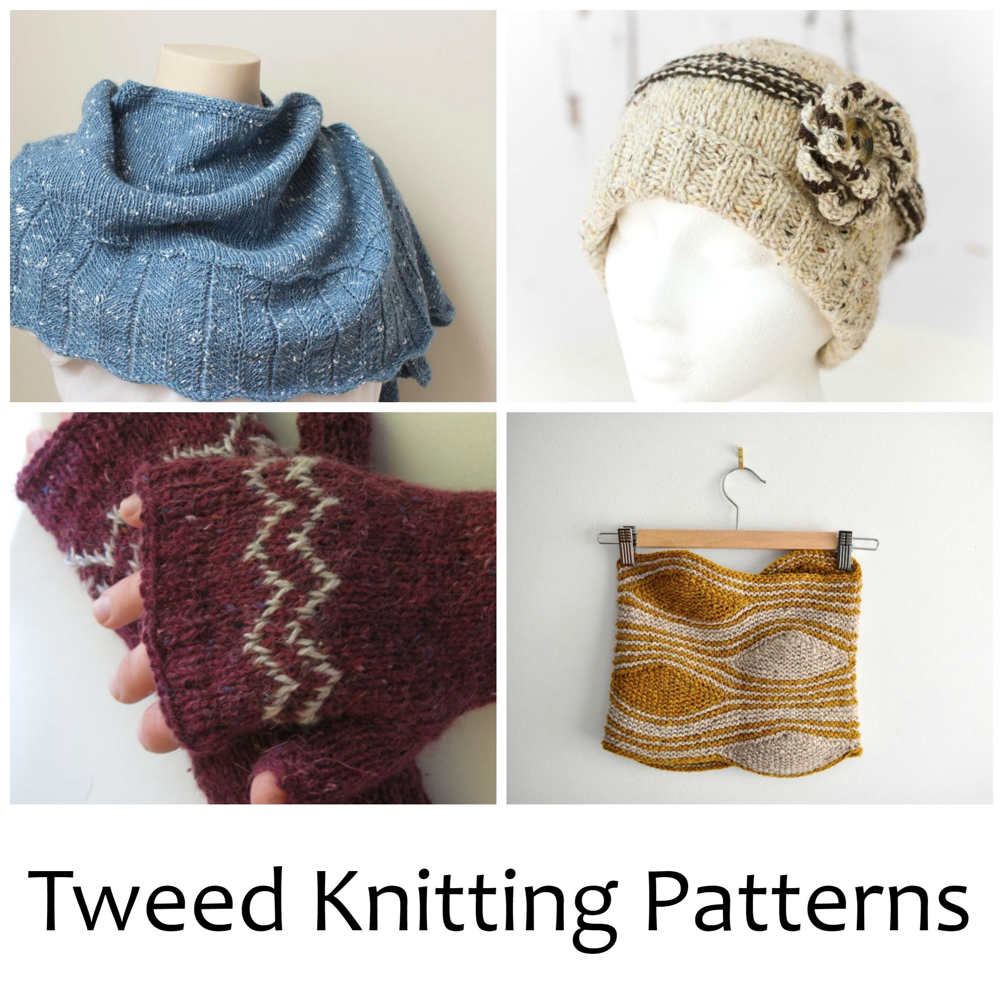 Tweed Knitting Patterns