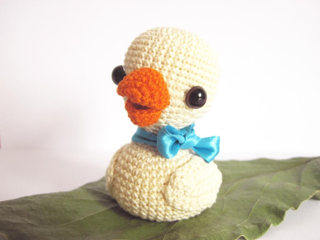 amigurumi duck pattern