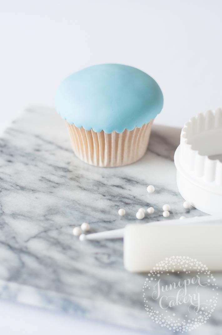 Birdcage wedding cupcakes tutorial
