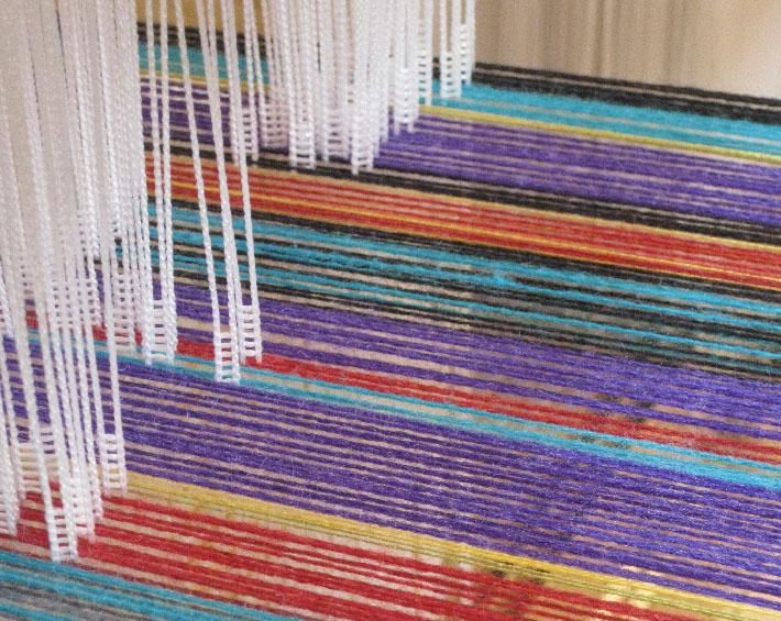 warped loom