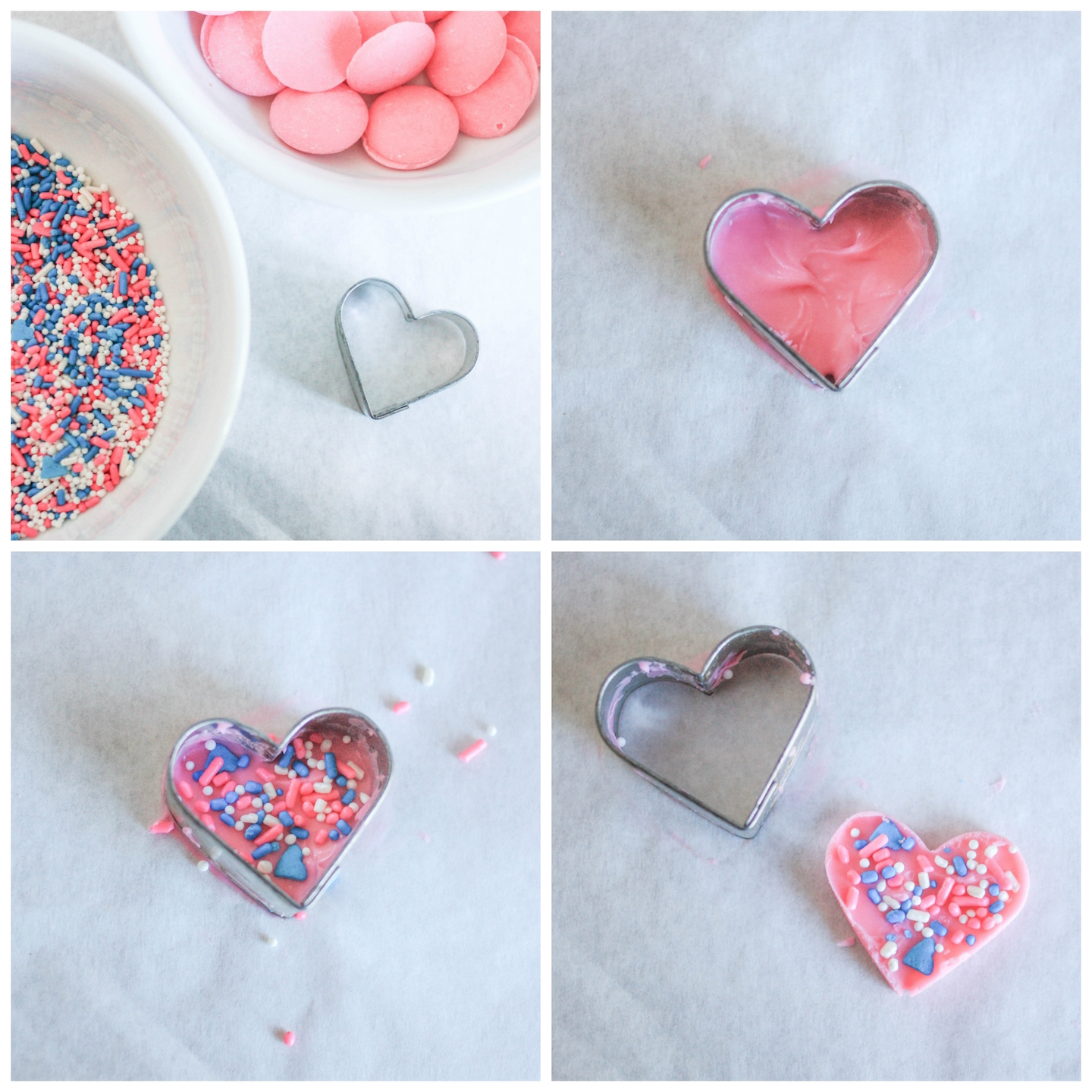 Making the Candy Sprinkle Heart Toppers | Erin Gardner | Bluprint