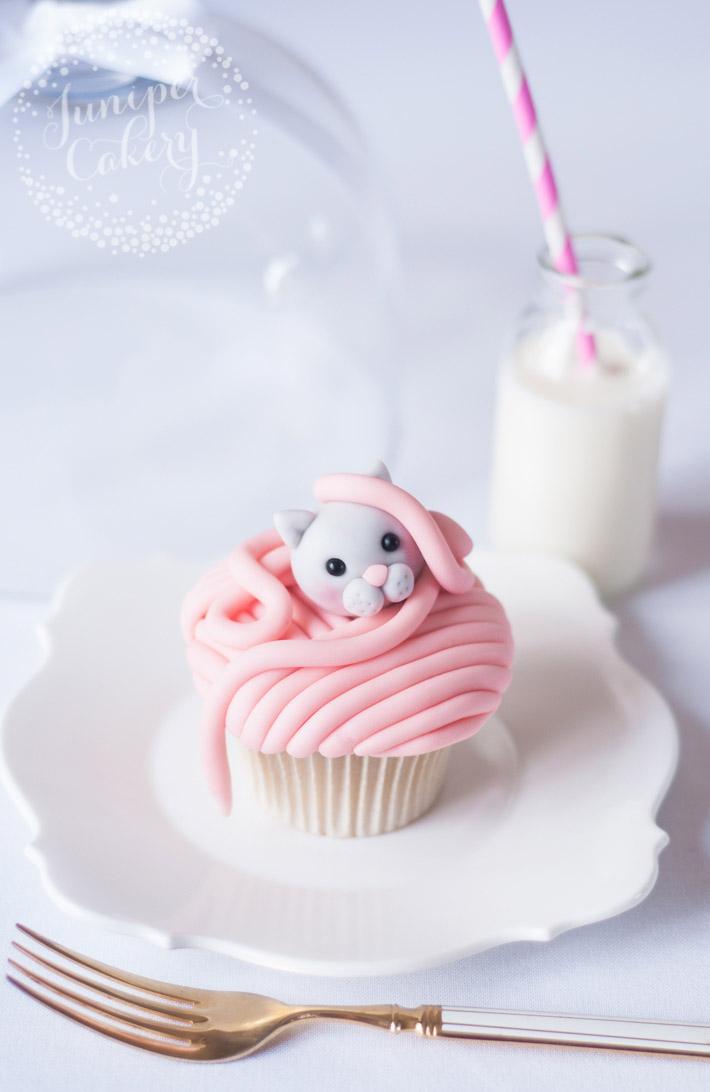 Kitty cat cupcake tutorial