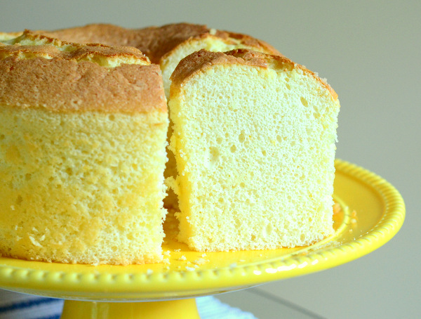 Try This Tart, Sweet Lemon Chiffon Cake