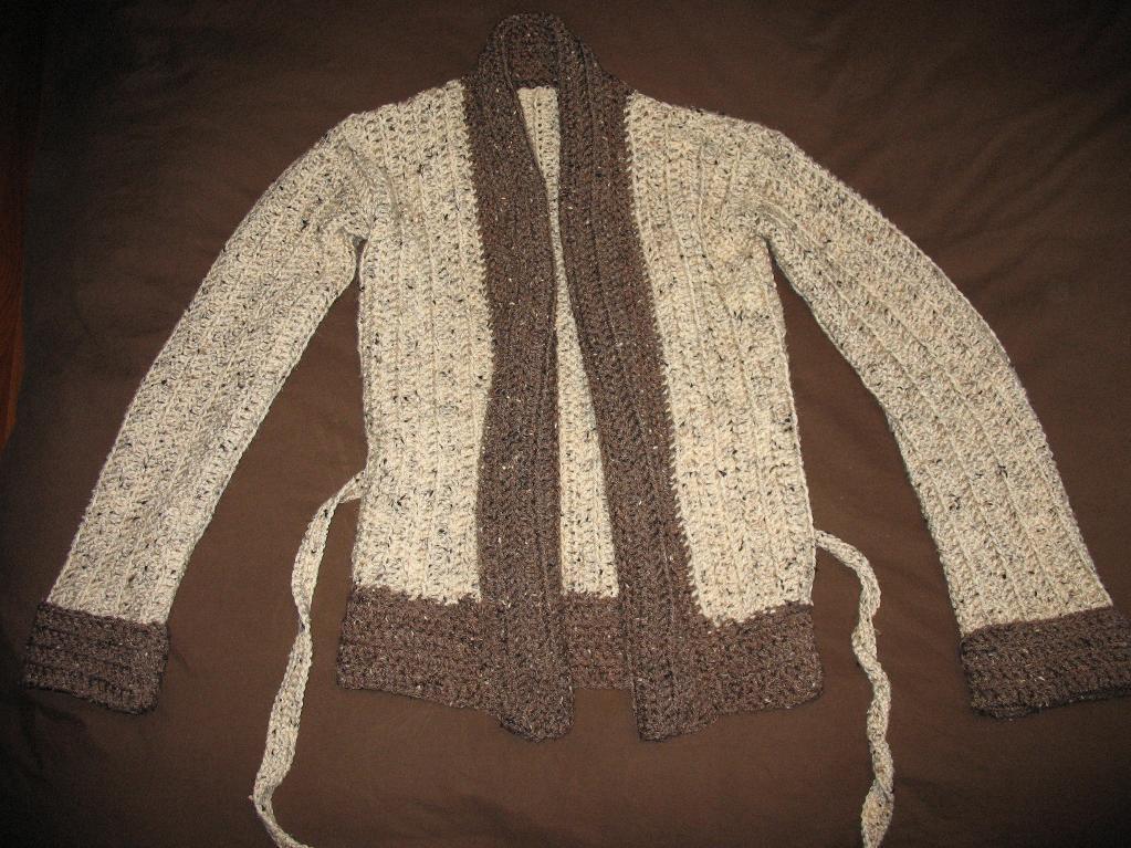 crochet wrap sweater pattern
