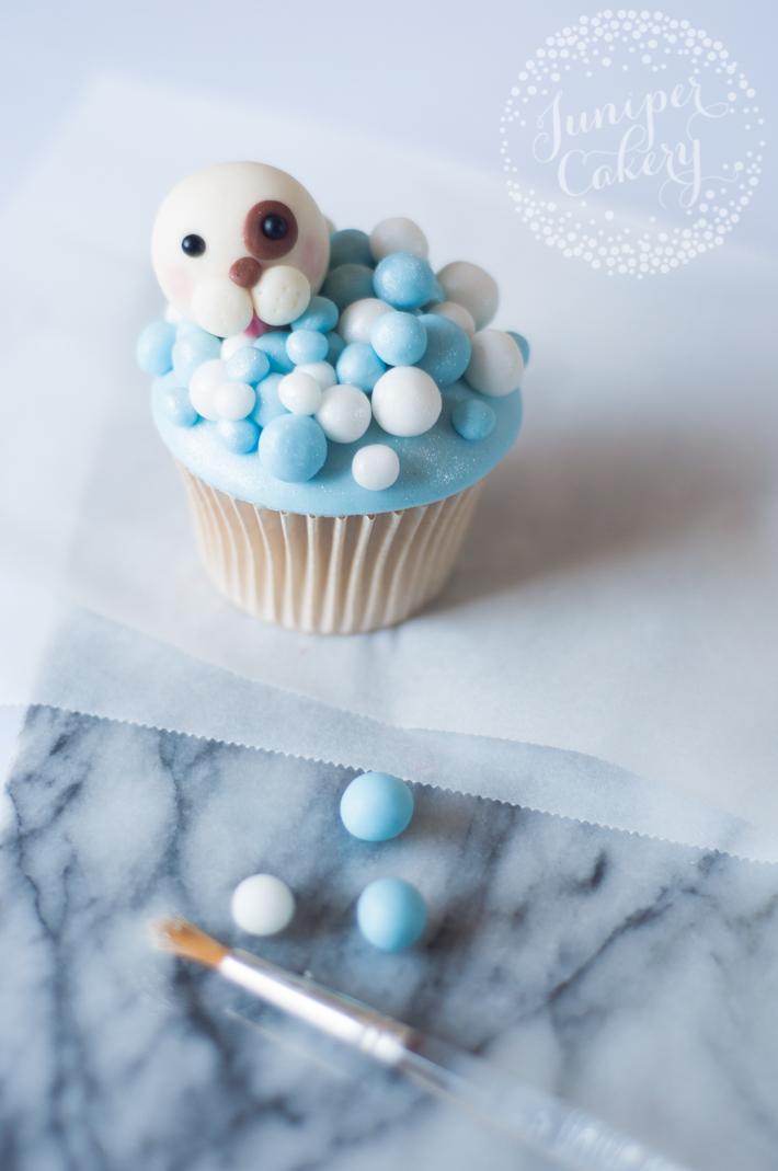 Adorable dog cupcakes tutorial
