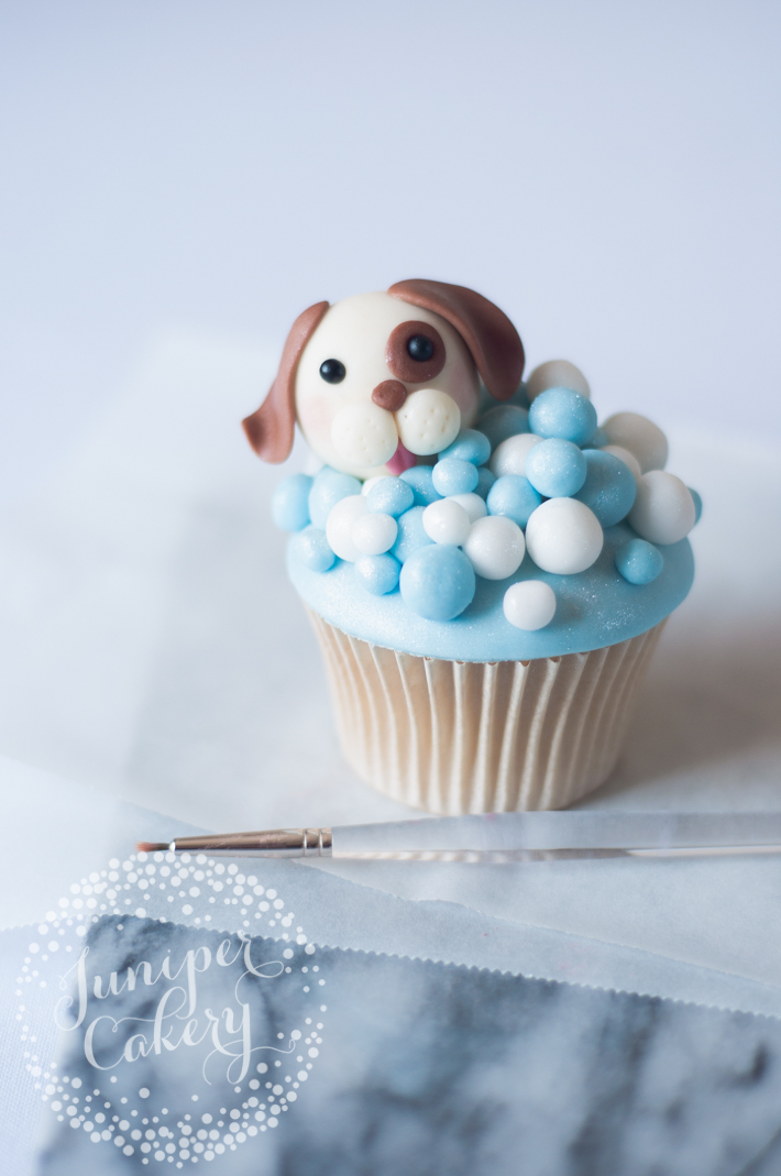 How to make cute puppy dog cupcakes