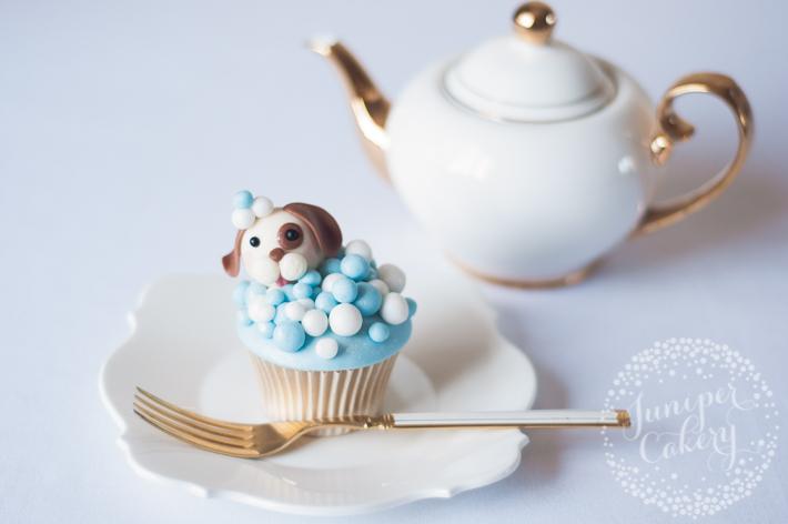 Super cute dog themed cupcakes tutorial