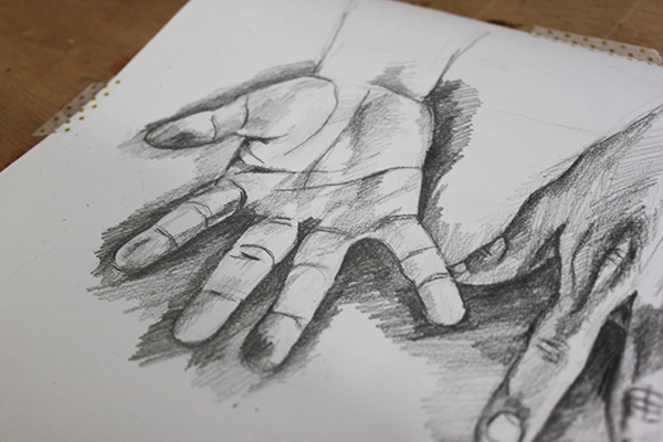Learning how to draw hands can help you better express the human figure.