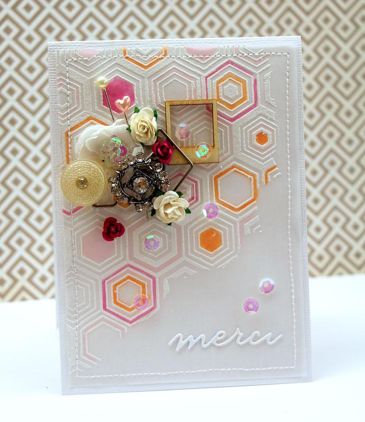 Mix and Match Embellishment Card