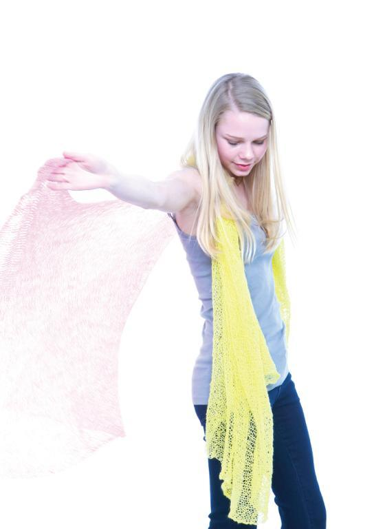 Adele's Skinny Wool Scarf FREE Knitting Pattern