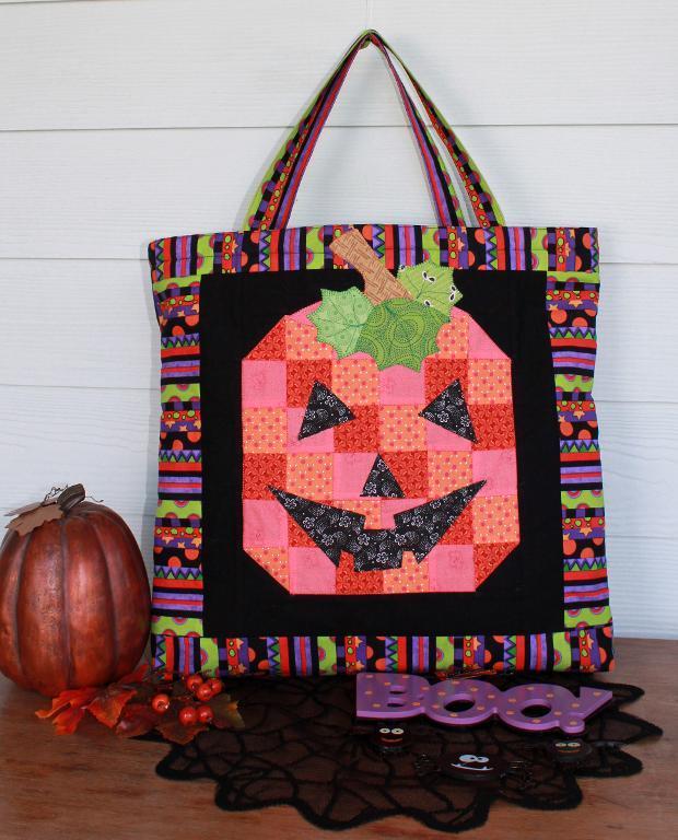 Boo Halloween Treat Bag Wall Hanging