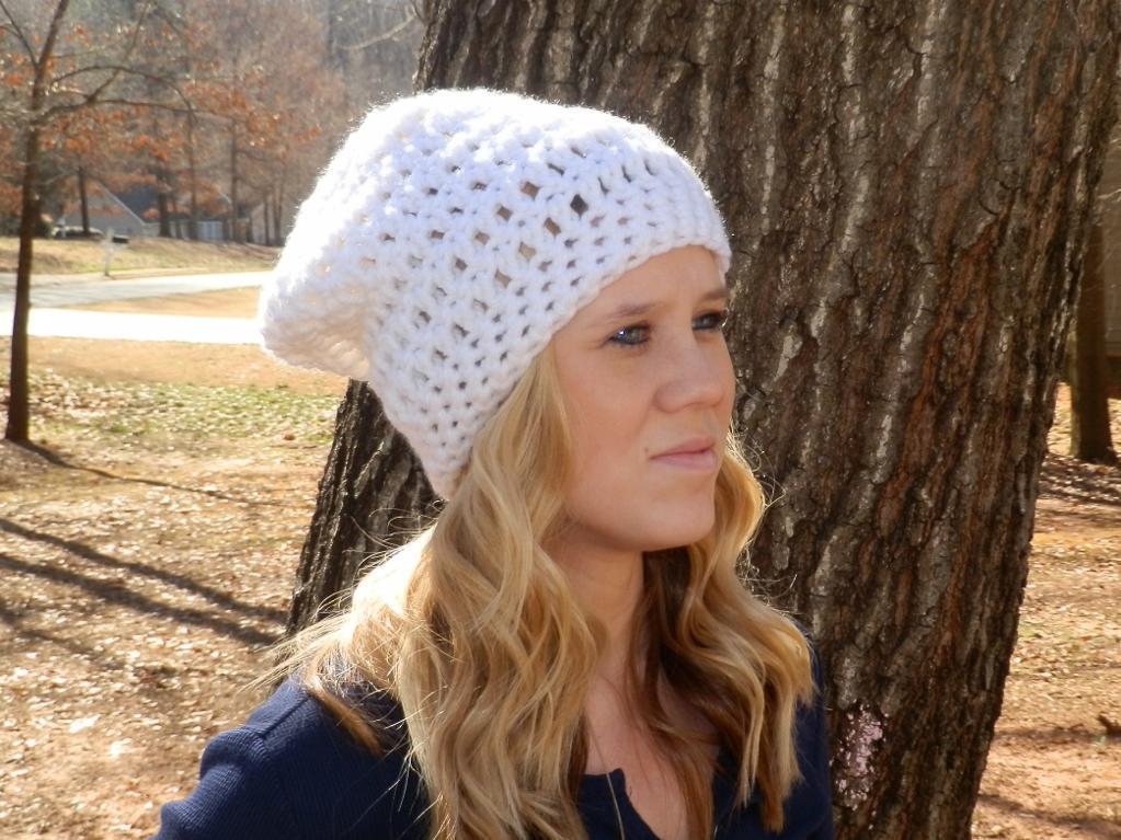 Easy Peasy Slouch Hat FREE Crochet Pattern