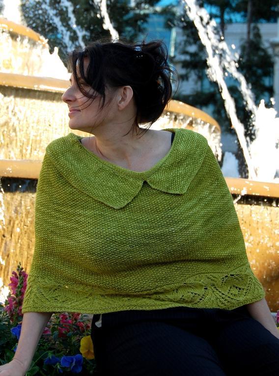 Castalia Poncho Knitting Pattern