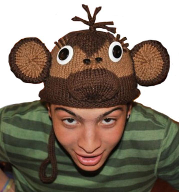 ROFL Monkey Hat Knitting Pattern