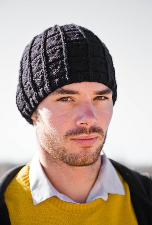 J.T. Men's Hat Knitting Pattern