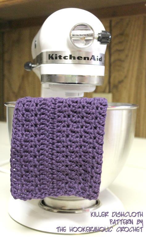 Killer Dishcloth FREE Crochet Pattern