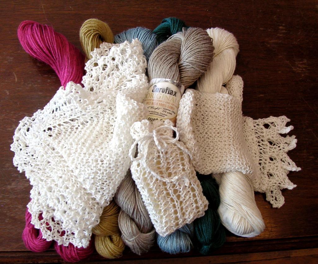Spa Set Knitting