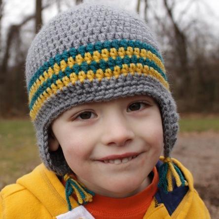 Versatile Earflap Hat FREE Crochet Pattern