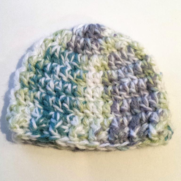 30 Minute Preemie Hat FREE Crochet Pattern