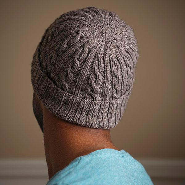Man-Approved Cabled Hat Knitting Pattern