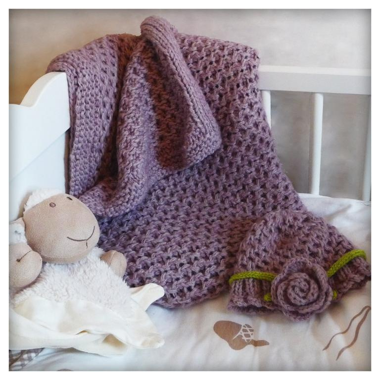 Candice Baby Blanket FREE Knitting Pattern