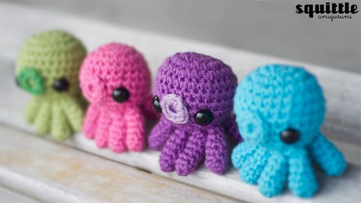 Free Baby Octopus Amigurumi Crochet Pattern