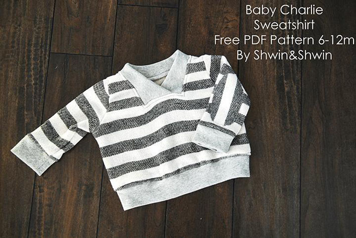 Keep little ones cozy in this cute sweater!