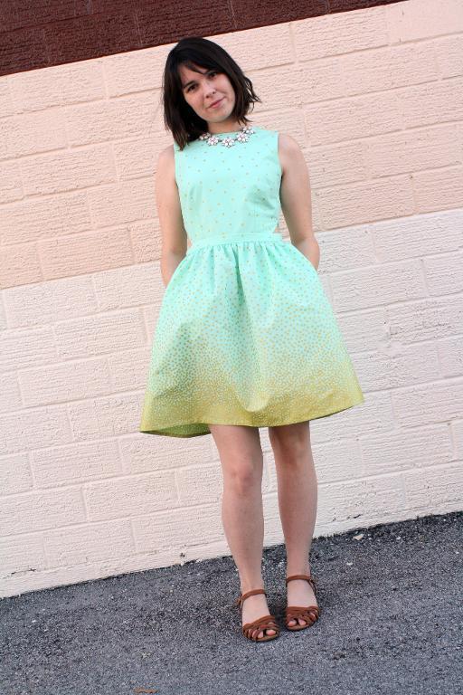 Bonnell Dress Sewing Pattern
