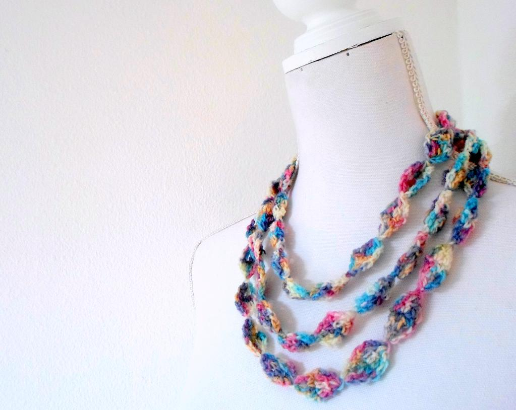 Endless Ways Necklace Crochet Pattern
