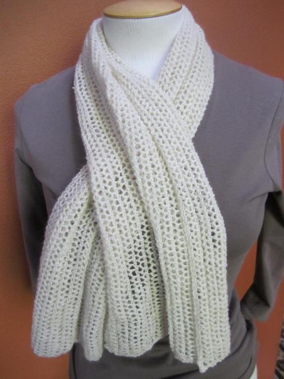 Chambery Scarf FREE Knitting Pattern