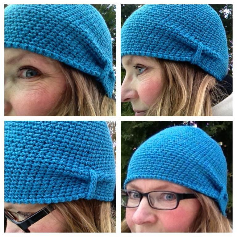 Back to the Thirties FREE Crochet Hat Pattern
