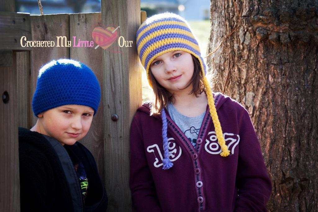 Basic Half Double Crochet Hat FREE Pattern