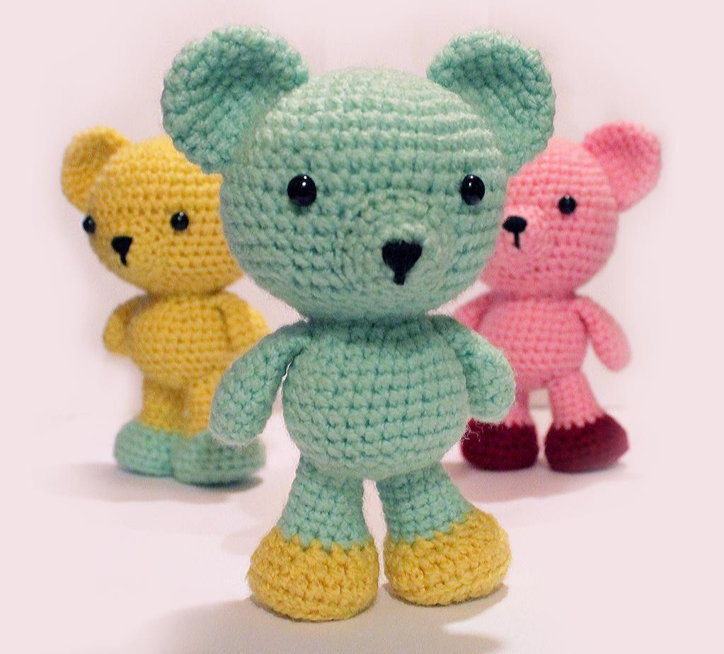 Amigurumi Bear FREE Crochet Pattern